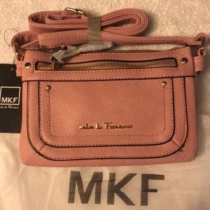 MKF collection crossbody bag pink